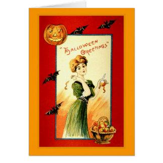 Tarjeta Saludos de Halloween