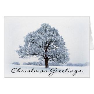 Tarjeta Saludos del navidad