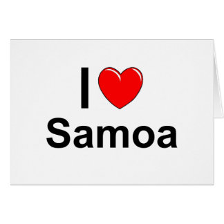 Tarjeta Samoa