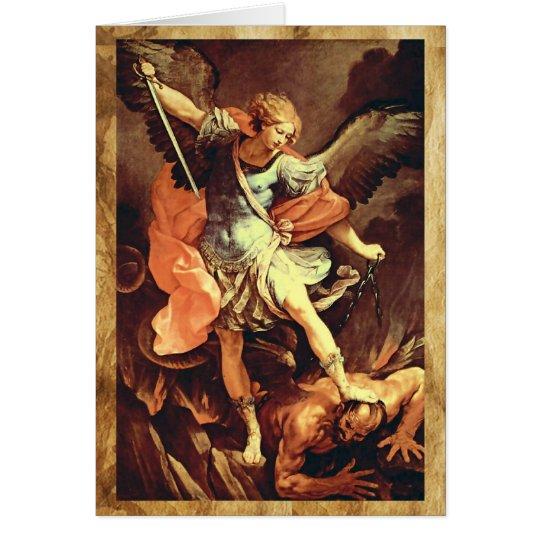 Tarjeta San Miguel el arcángel