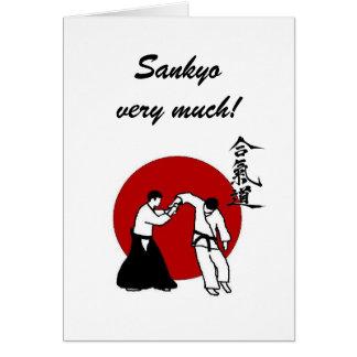 Tarjeta ¡Sankyo mucho!