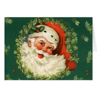 Tarjeta Santa clásico