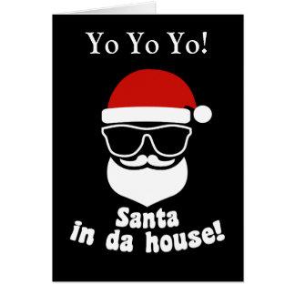 Tarjeta Santa en casa de DA