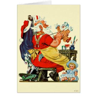 Tarjeta Santa en el trabajo
