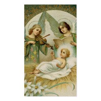 Tarjeta santa escritura Gloria Plantilla De Tarjeta De Visita
