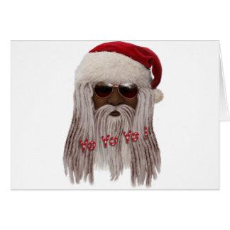 Tarjeta ¡Santa (oscuro) adentro teme - el yoyo de Yo!