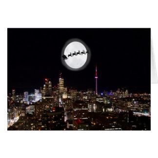 Tarjeta Santa sobre Toronto