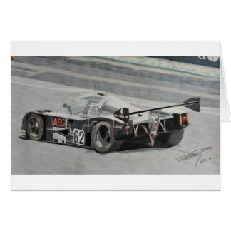 Tarjeta Sauber 1988 C9 Mercedes