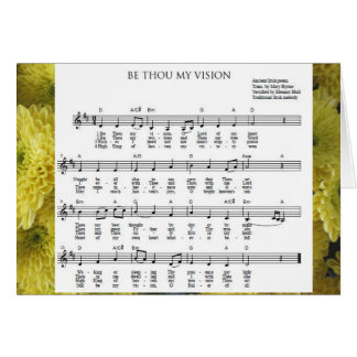 "Tarjeta ""Sea mil mi Vision"" Notecard"