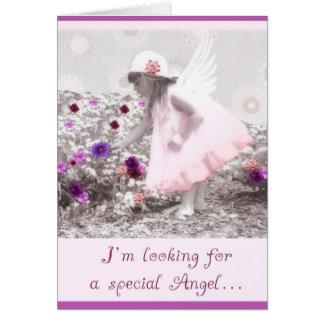 Tarjeta sea por favor mi flowergirl