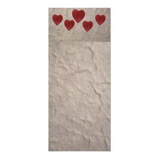 Tarjeta Señal del corazón del amor