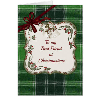 Tarjeta Señor de MacDonald del amigo del navidad del