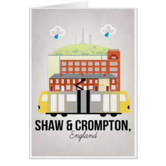 Tarjeta Shaw y Crompton