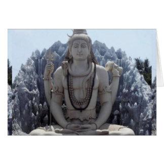 Tarjeta SHIVA - Señor Himalayan de la PAZ