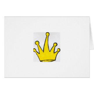 Tarjeta Si los ajustes de la corona