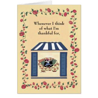 Tarjeta Siempre que piense en para cuál soy agradecido…
