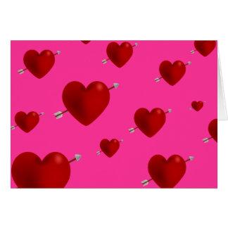 Tarjeta simple del el día de San Valentín