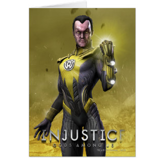 Tarjeta Sinestro