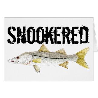 Tarjeta Snook snookered