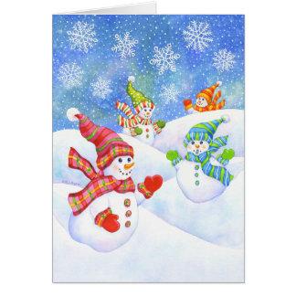 Tarjeta SnowGirls