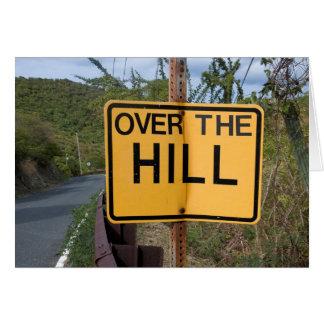 Tarjeta Sobre la colina