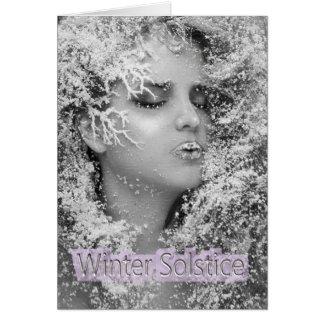 Tarjeta ¡Solsticio de invierno feliz!