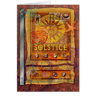 Tarjeta Solsticio de verano