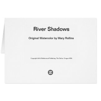 Tarjeta Sombras del río