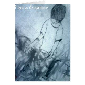 Tarjeta Soy un animado del manga del soñador
