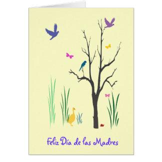 Tarjeta Springtime Dia de las Madres