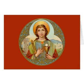 Tarjeta St. Barbara (BK 001) horizontal