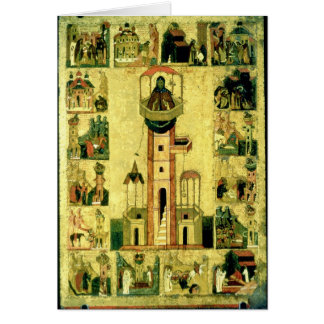 Tarjeta St. Simeon, siglo XVI