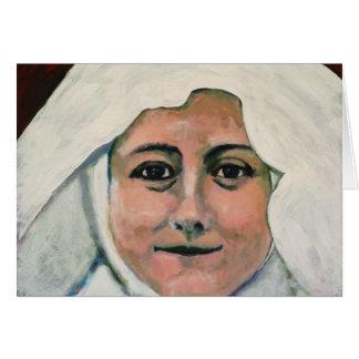 Tarjeta St. Thérèse de Lisieux Notecard