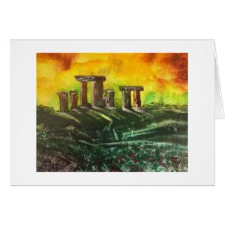 Tarjeta Stonehenge