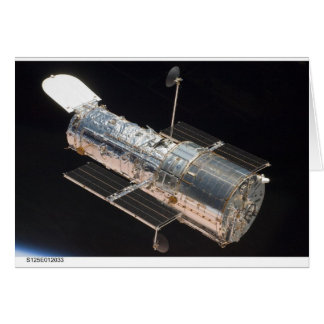 Tarjeta STS-125 la Atlántida Hubble