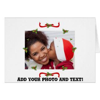Tarjeta Su fotografía de Noël