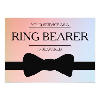 Tarjeta Su servicio se pide como mejor padrino de boda del