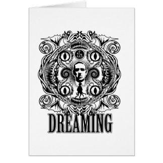 Tarjeta Sueños de Lovecraftian