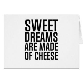 Tarjeta sueños dulces