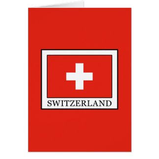 Tarjeta Suiza