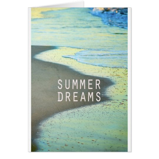 Tarjeta Summer Dreams