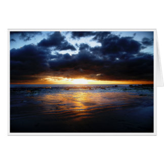 Tarjeta Sun, mar y arena