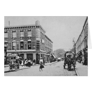 Tarjeta Taberna del granero, Highbury, c.1900