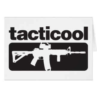 Tarjeta Tacticool - negro