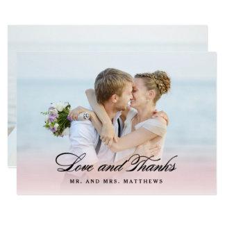 Tarjeta Tan en el amor el | que se casa gracias foto