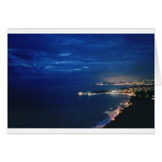 Tarjeta Taormina, Sicilia, Italia