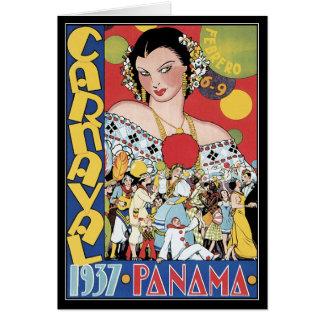 Tarjeta Tarjeta: ¡Carnaval!
