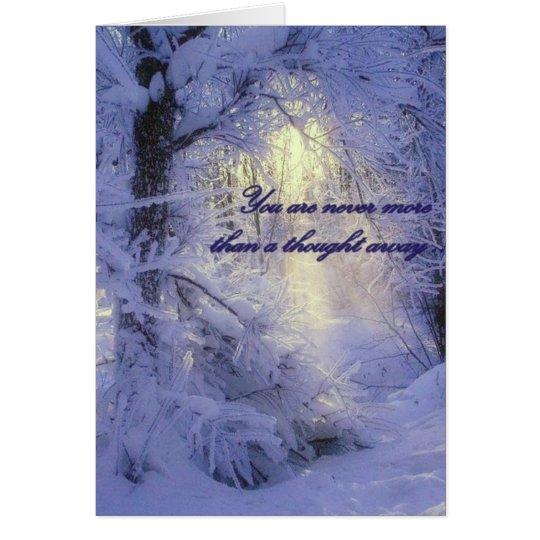 Tarjeta - tarjeta de nota en blanco del navidad