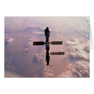 Tarjeta Tarjeta/estación espacial internacional