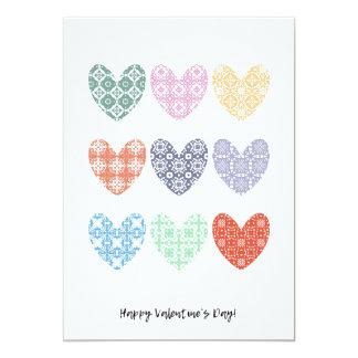 Tarjeta ¡Tarjeta feliz del el día de San Valentín con los